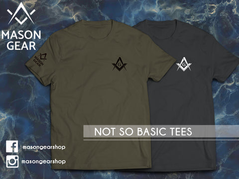 Mason Gear- Not so Basic Tee - Mason Gear Shop
