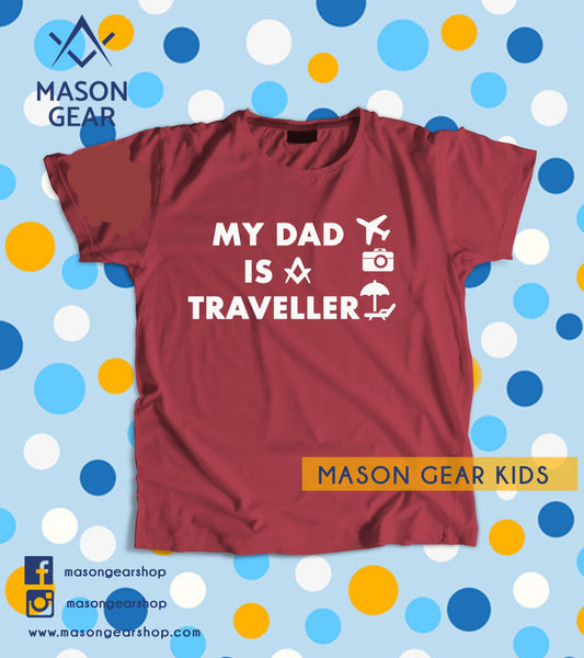 My DAD is a Traveller - Youth tshirt
