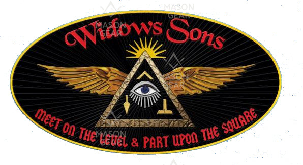 WIDOWS SONS (textured emblem) collaboration with Bro Maynard A.