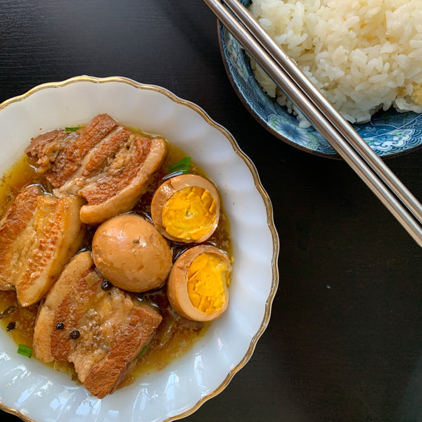 Caramelized Heritage Pork and Eggs (Thit Kho Trung)