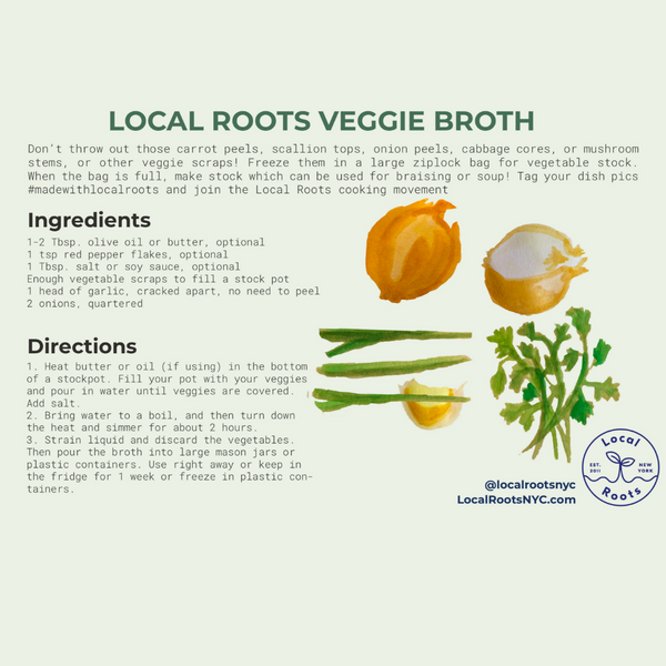 Sustainable Cooking Tip: Make Veggie Broth