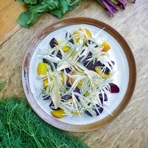 Pickled Fennel and Beet Salad
