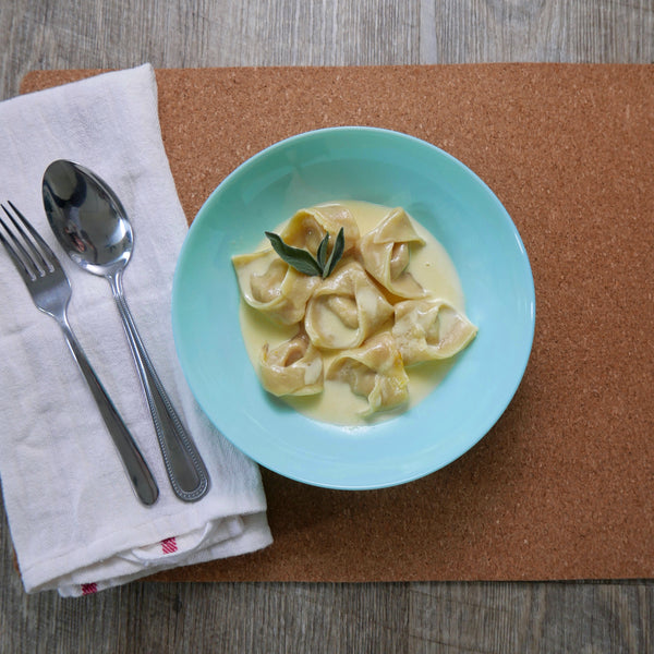 Kabocha Squash and Pork Belly Tortellini