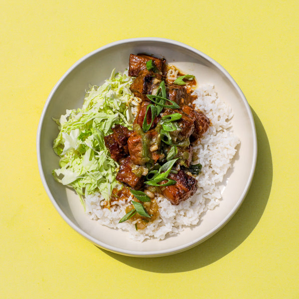 Miso Glazed Pork Belly Rice Bowl