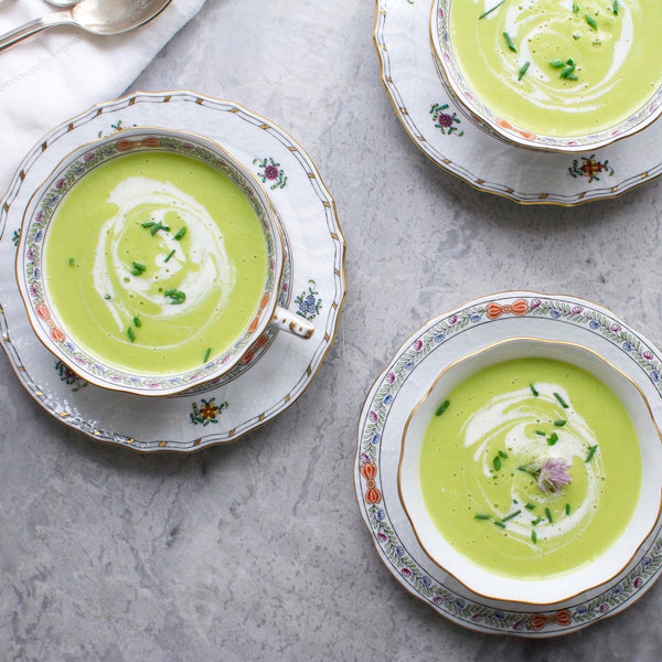 Ramp Buttermilk Soup