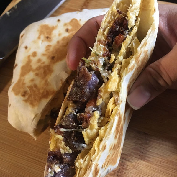 Potato Chorizo Crunch Wrap