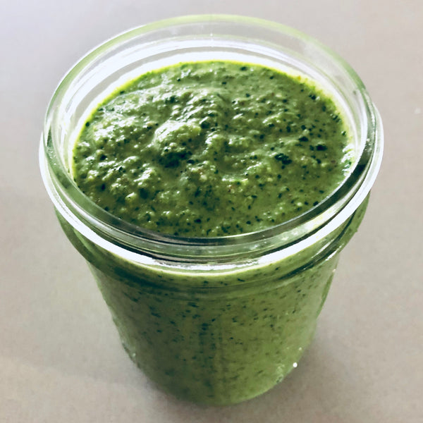 Radish Top (or Any Other Vegetable) Pesto