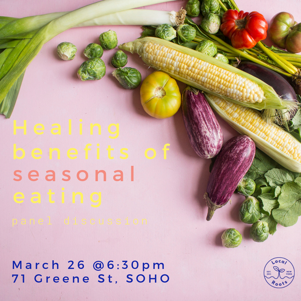 Healing Benefits of Seasonal Eating