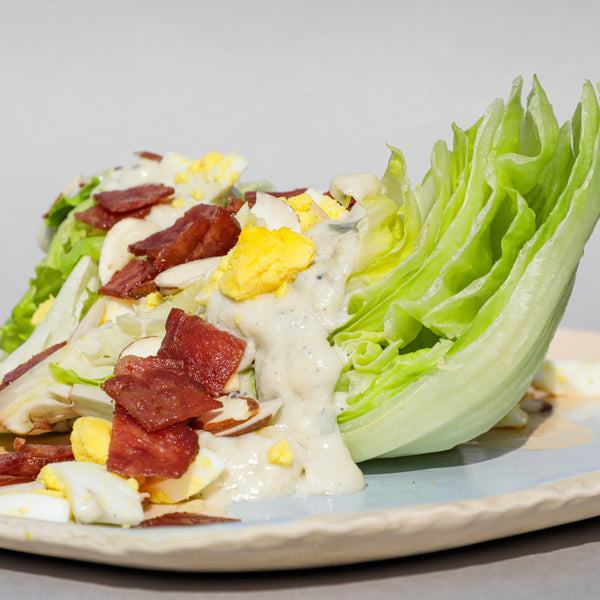Turkey Bacon Wedge Salad