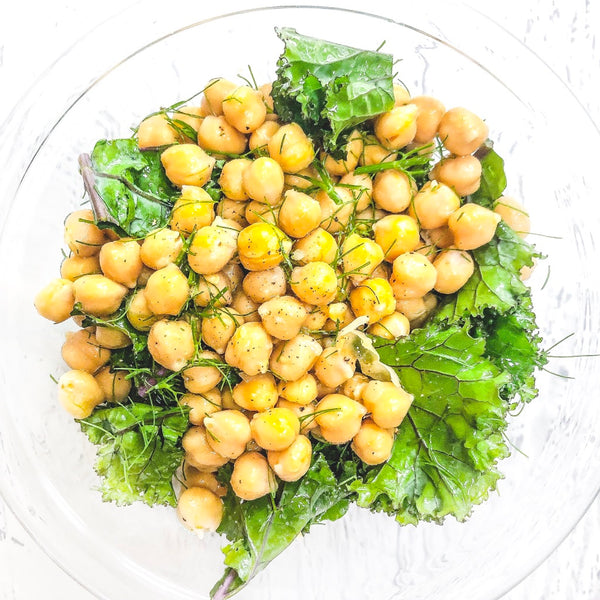 Lemon & Fennel Chickpea Salad