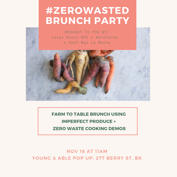 #ZeroWasted Brunch Party: Fight Food Waste
