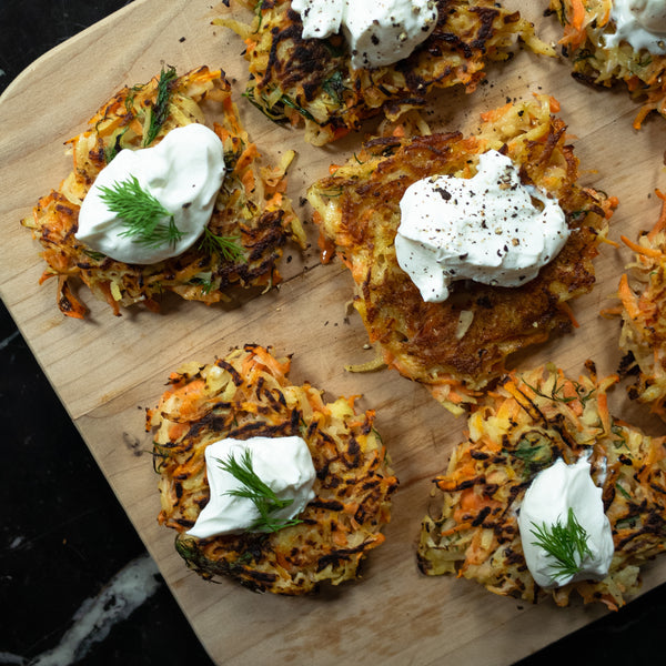Low Carb Latkes 🥕🥔