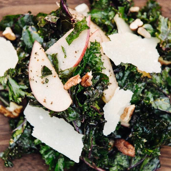 Sabu's Purple Kale Salad