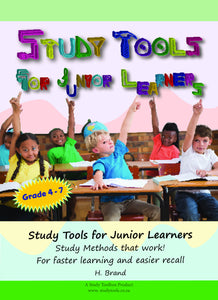 Study Tools for Junior Learners (English) - Study Toolbox