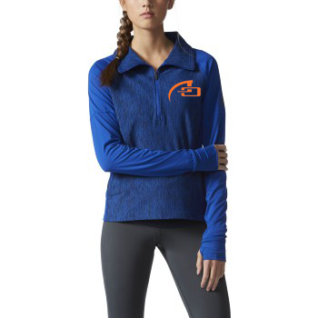 WOMEN'S ADIDAS PERFORMER BASELINE 1/4-ZIP PULLOVER