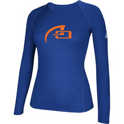 WOMEN'S ADIDAS LONG SLEEVE CLIMALITE TEE