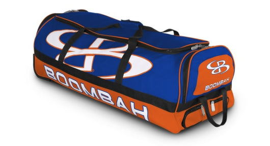 BOOMBAH BRUTE ROLLING BAT BAG (WITH ALL OUT LOGO AND NUMBER)