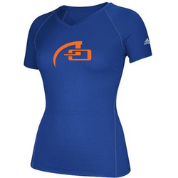 WOMEN'S ADIDAS SHORT SLEEVE CLIMALITE TEE