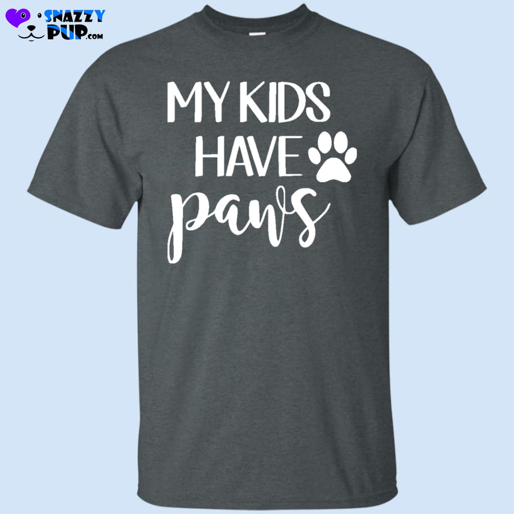 Do Your Kids Have Paws T Shirt - T-Shirts