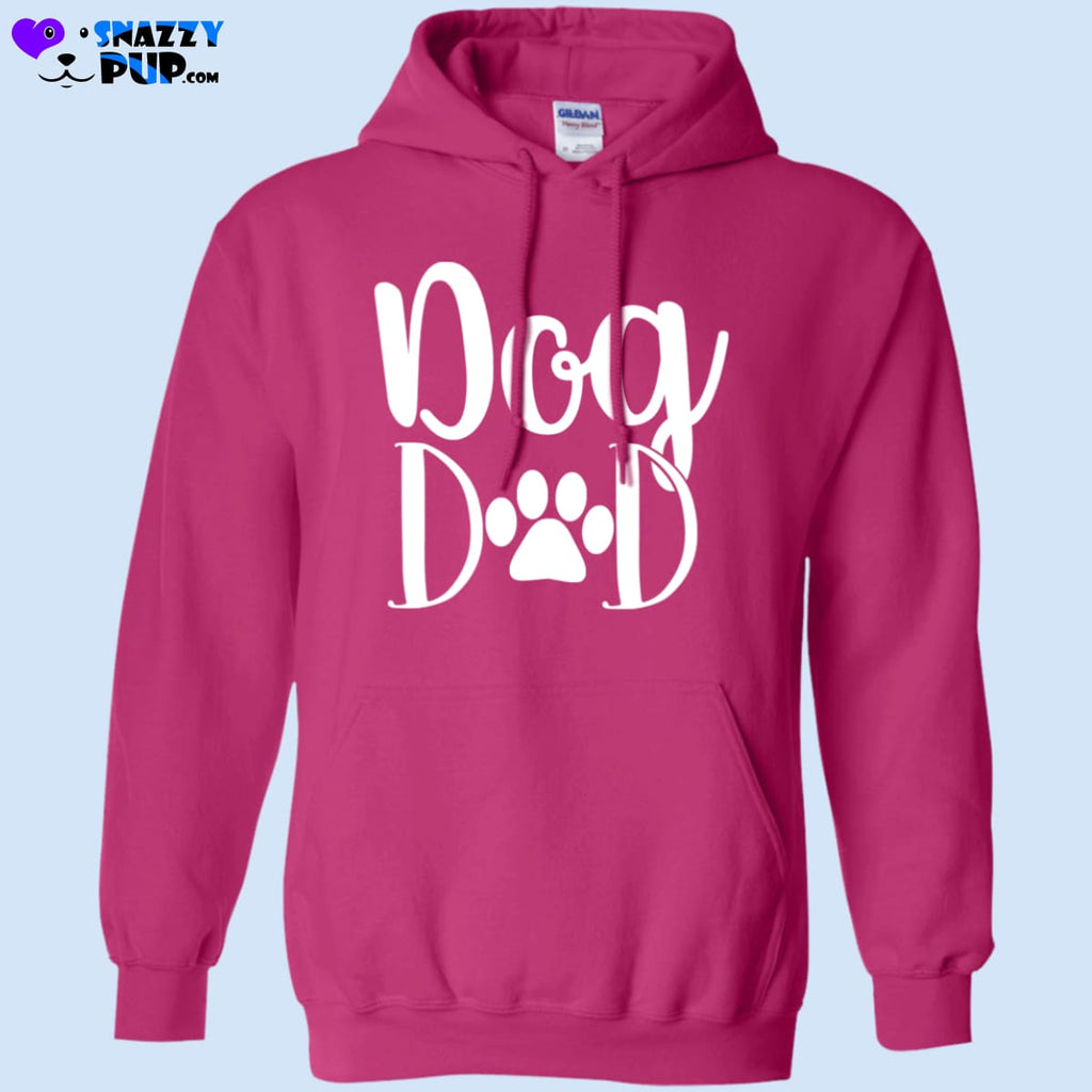 Dog Dad Hooded Sweatshirt - Sweatshirts