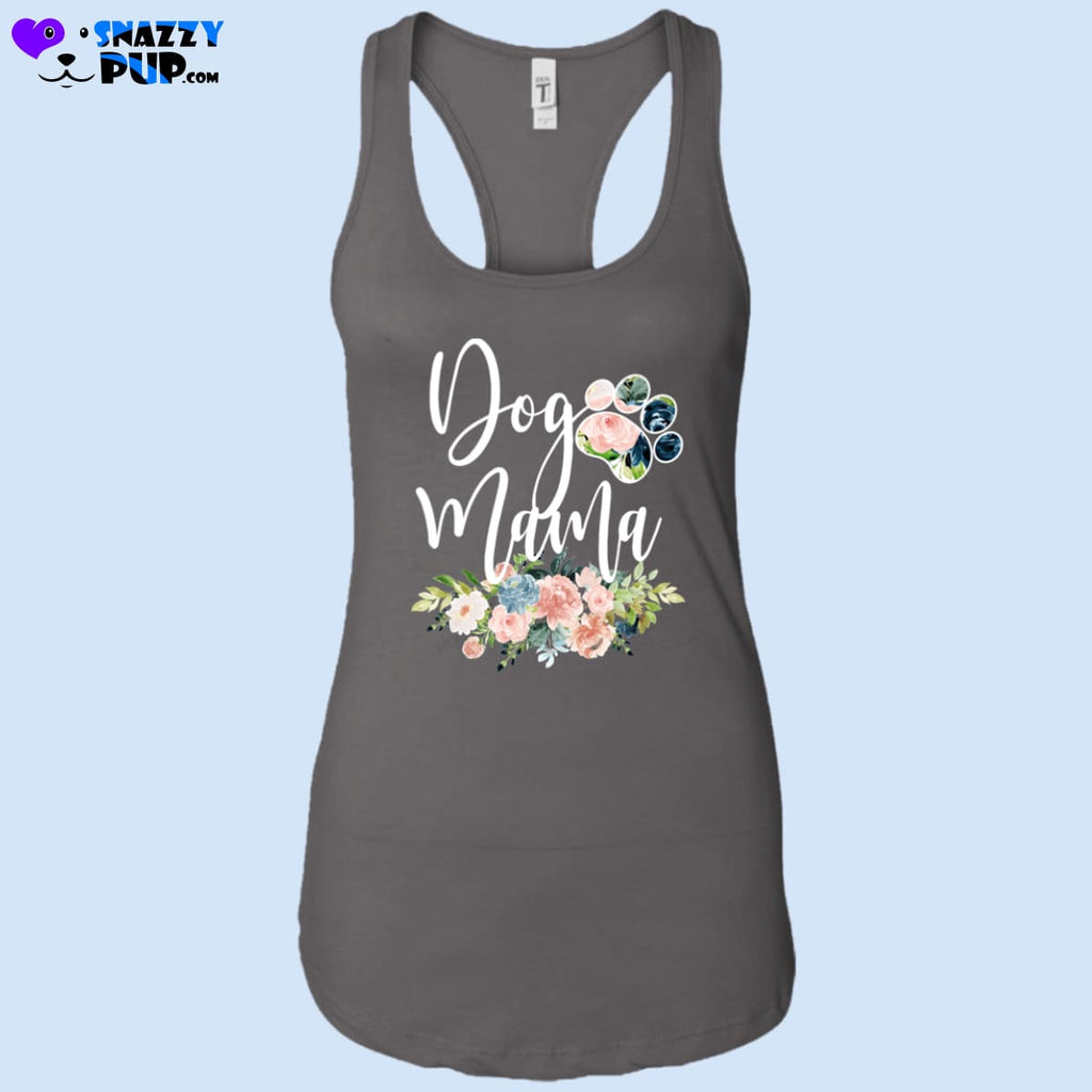Dog Mama - Womens Tank Tops - T-Shirts