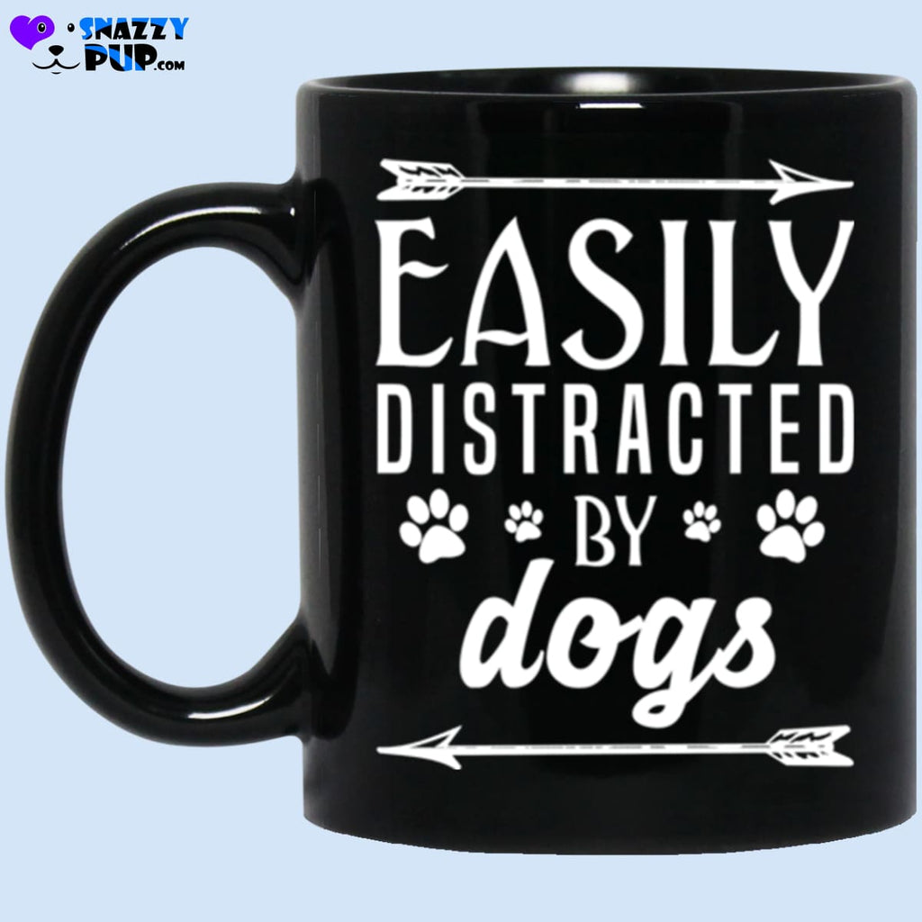 Easily Distracted By Dogs - Apparel