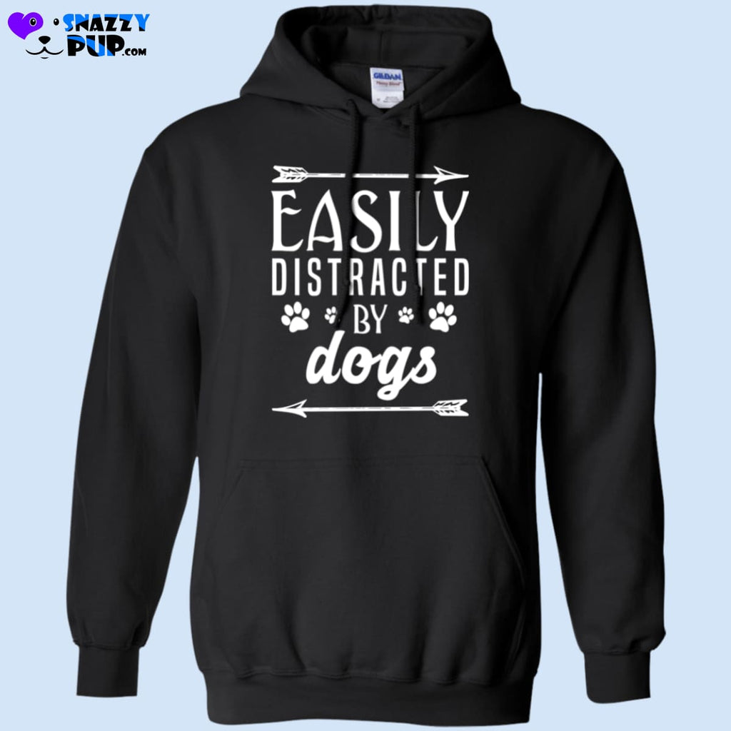 Easily Distracted By Dogs - Sweatshirts