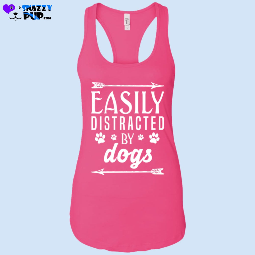Easily Distracted By Dogs - T-Shirts