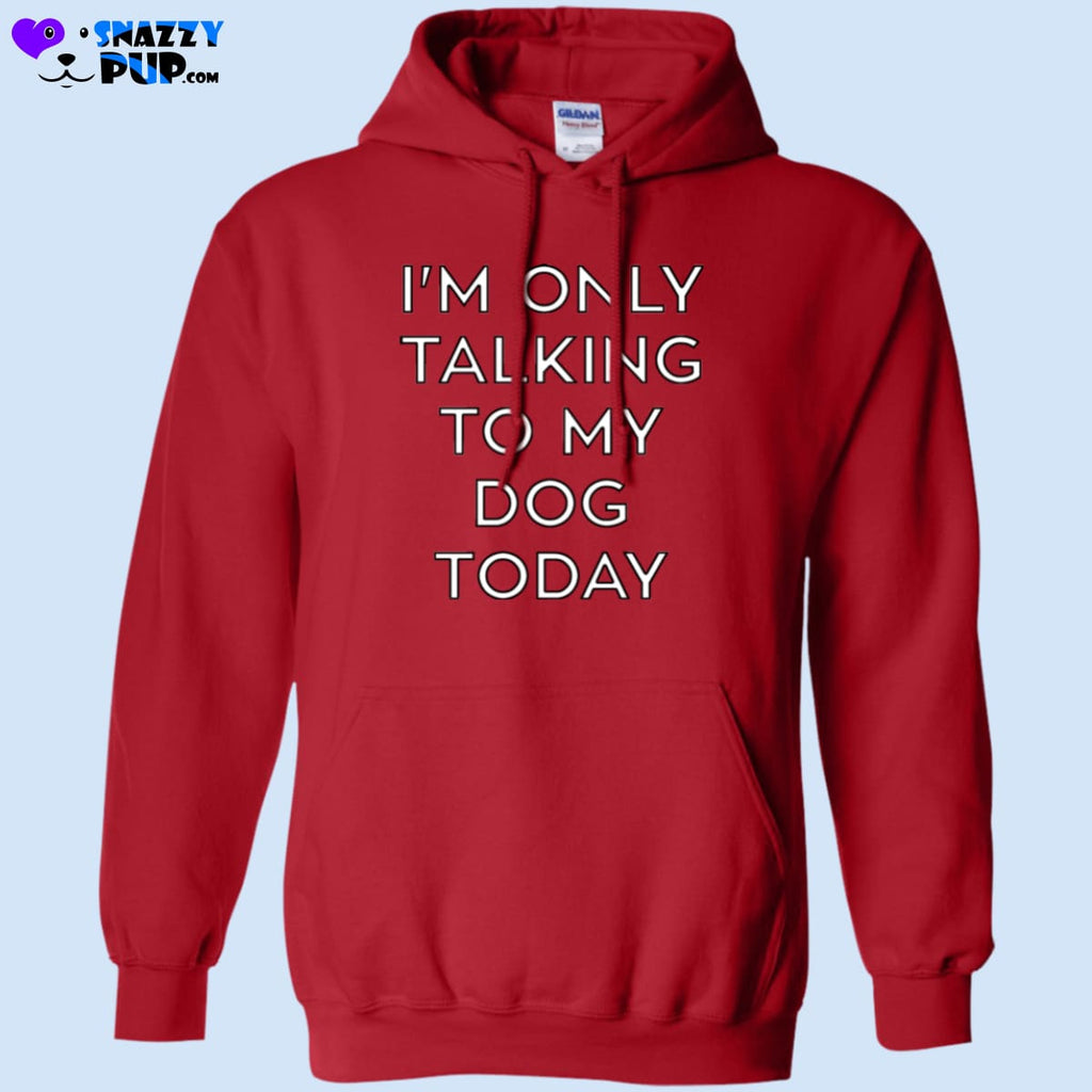 Im Only Talking To My Dog Today - Sweatshirts