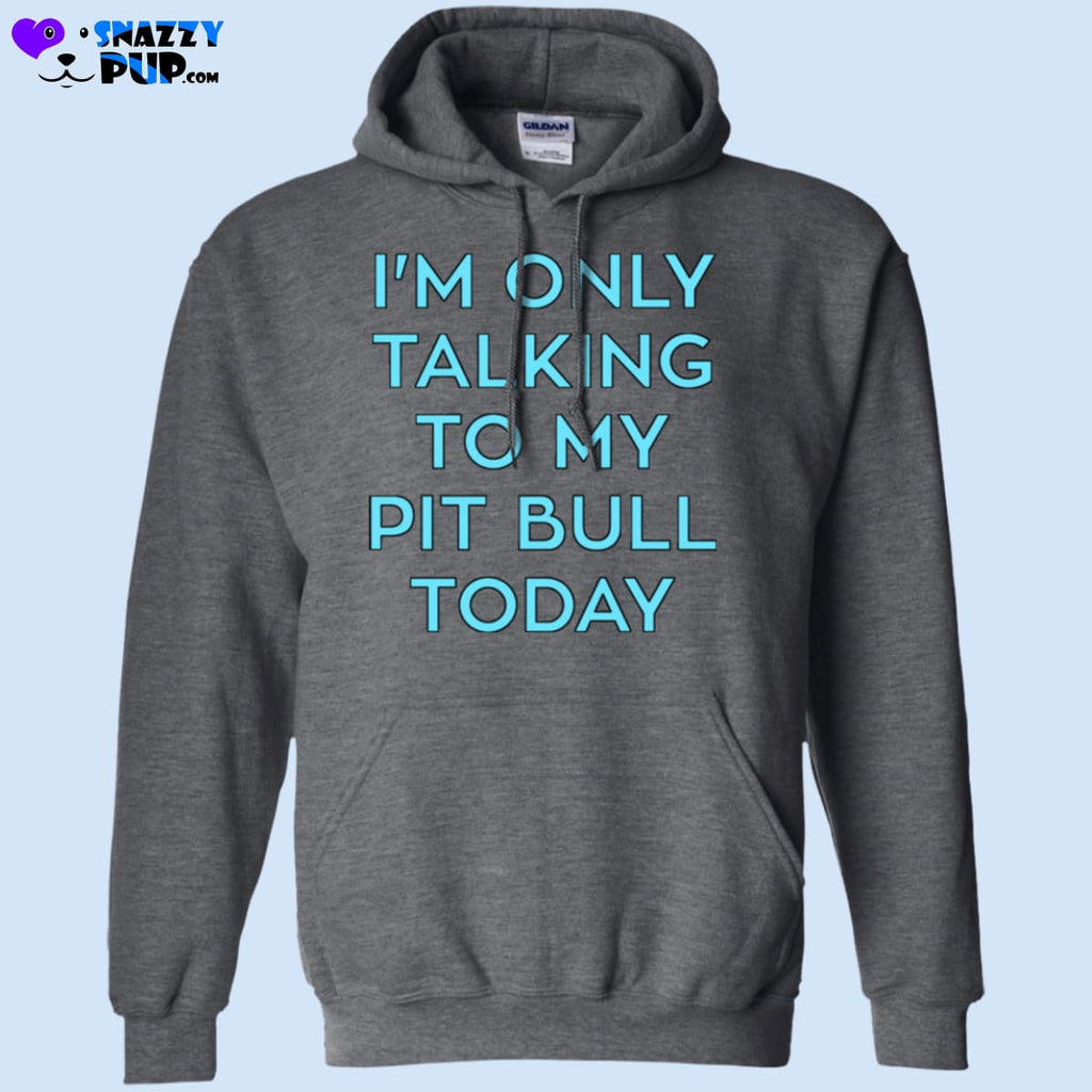 Im Only Talking To My Pit Bull Today - Apparel