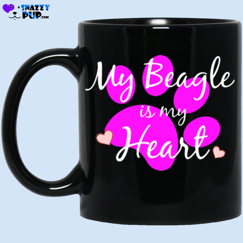 My Beagle Is My Heart - Apparel