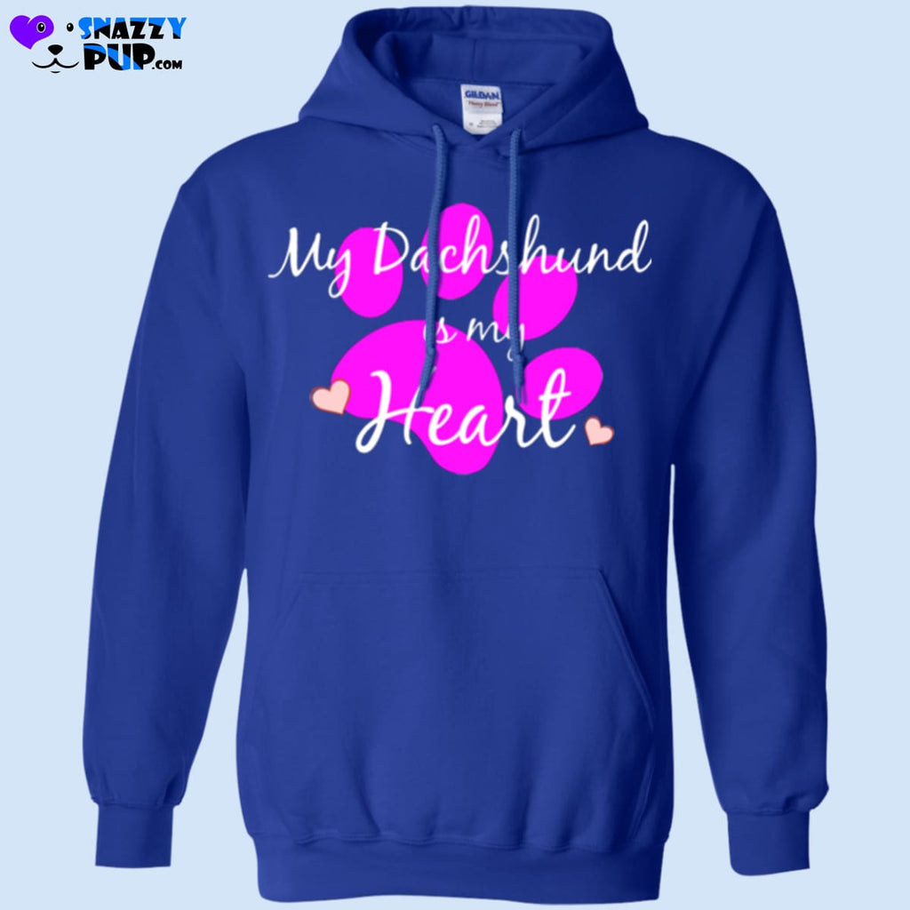 My Dachshund Is My Heart - Apparel