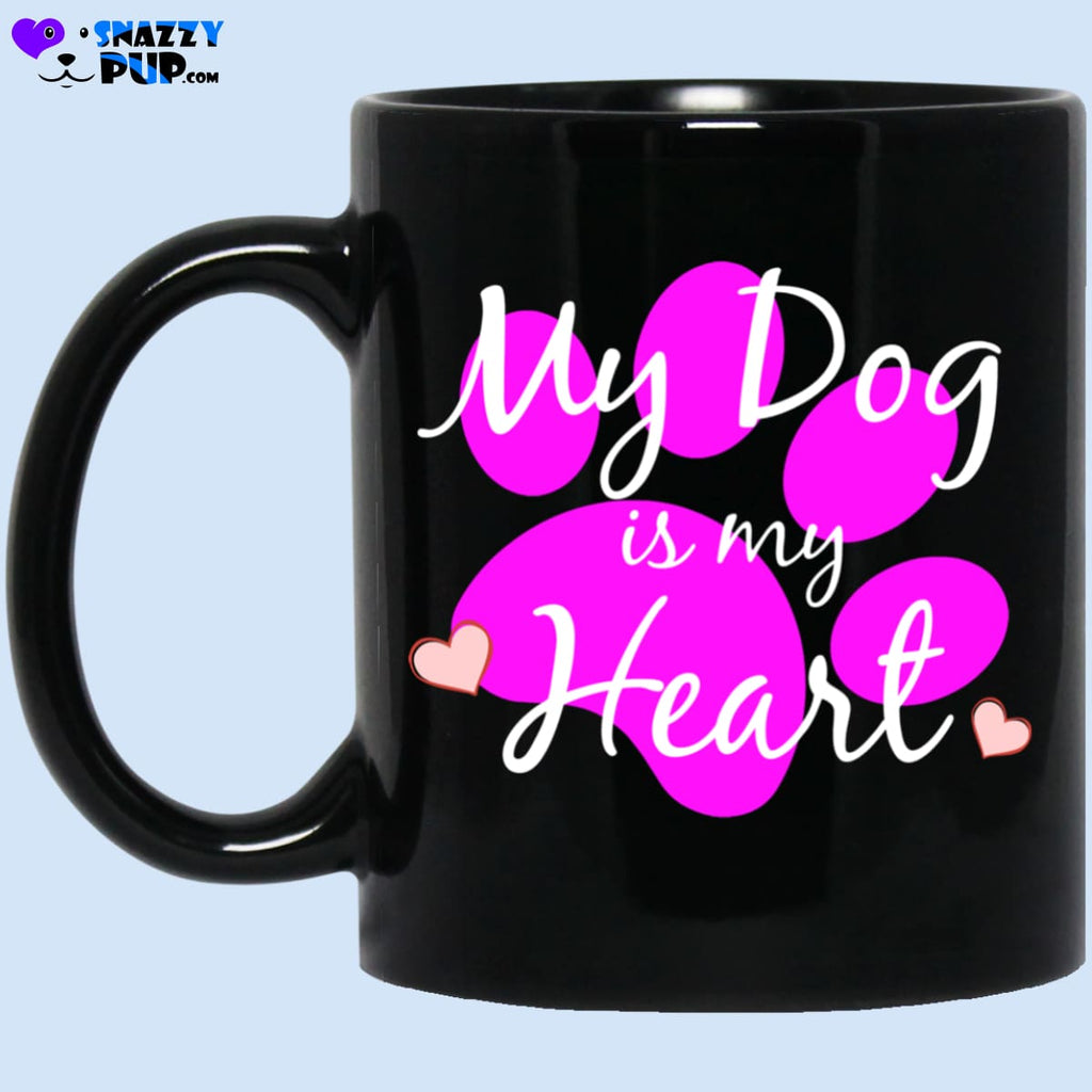 My Dog Is My Heart - Apparel