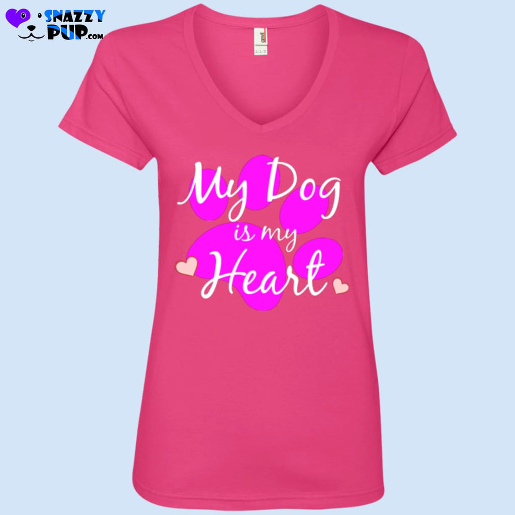 My Dog Is My Heart - T-Shirts
