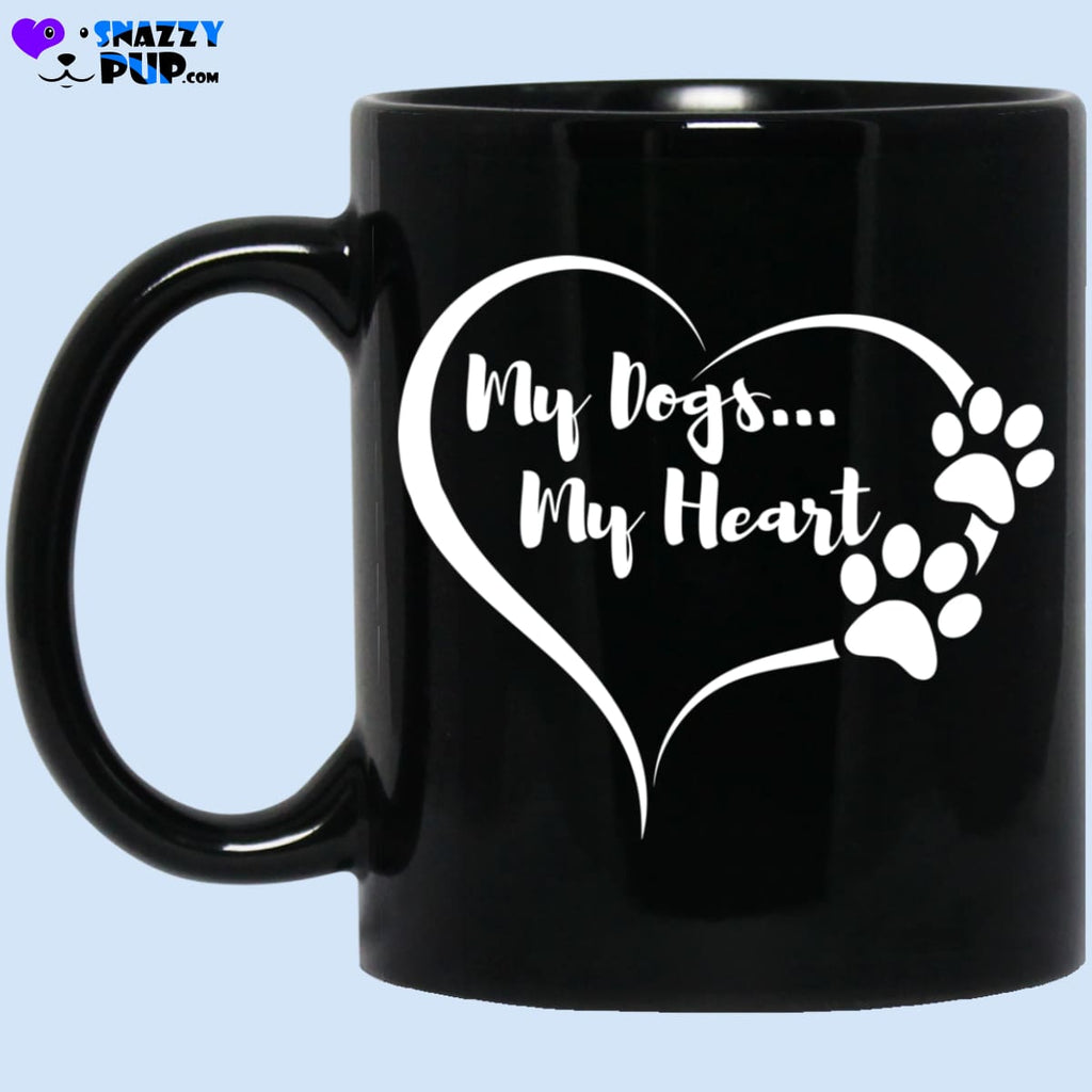 My Dogs My Heart Coffee Mug - Apparel