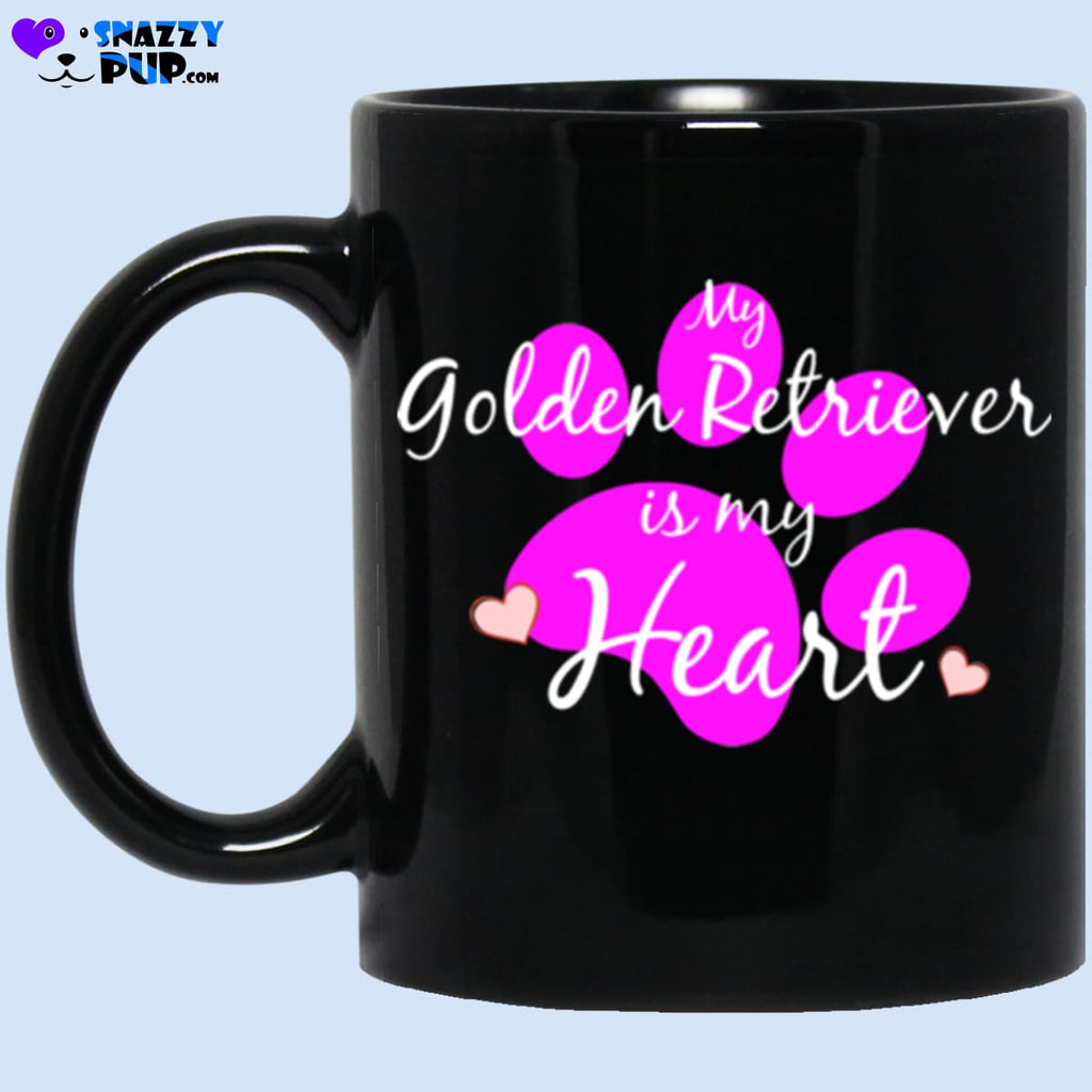 My Golden Retriever My Heart - Apparel
