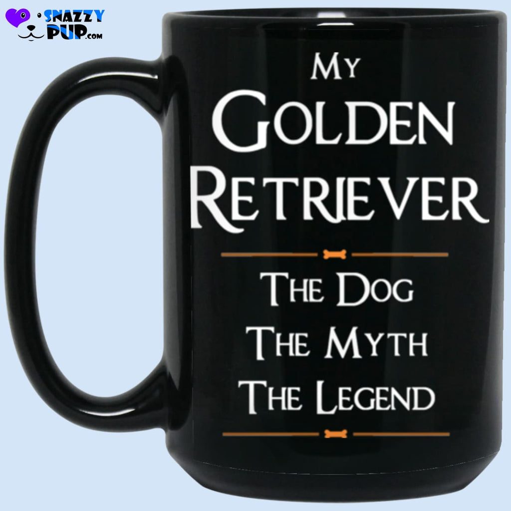 My Golden Retriever...the Dog The Myth The Legend - Apparel