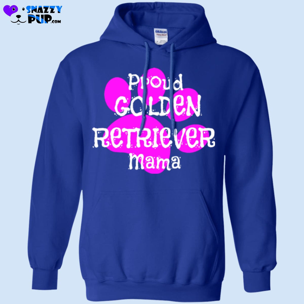 Proud Golden Retriever Mama - Apparel