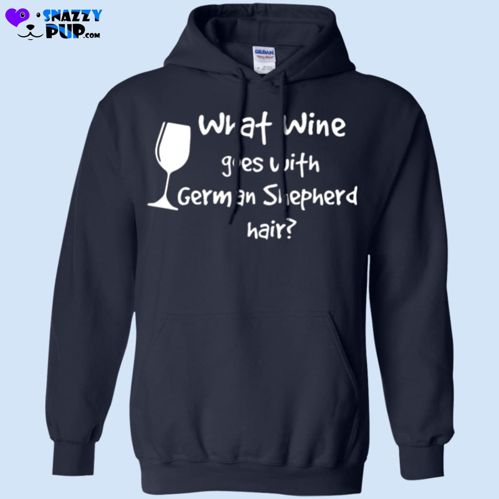 What Wine Goes With German Shepherd Hair - Apparel