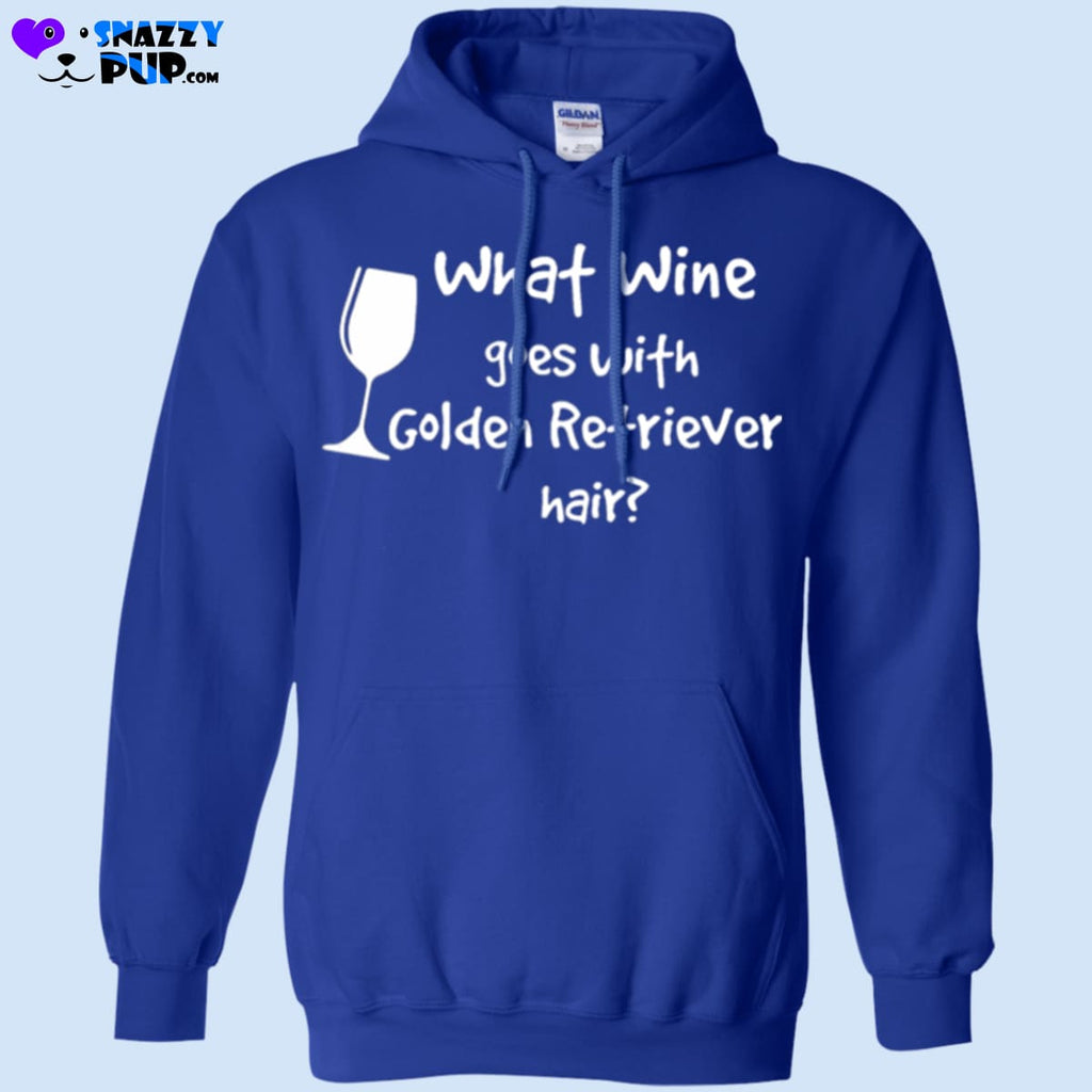 What Wine Goes With Golden Retriever Hair - Apparel