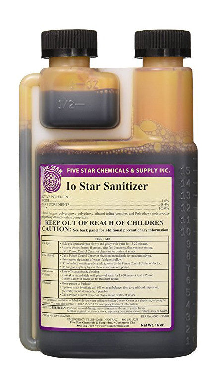 IO Star Sanitizer