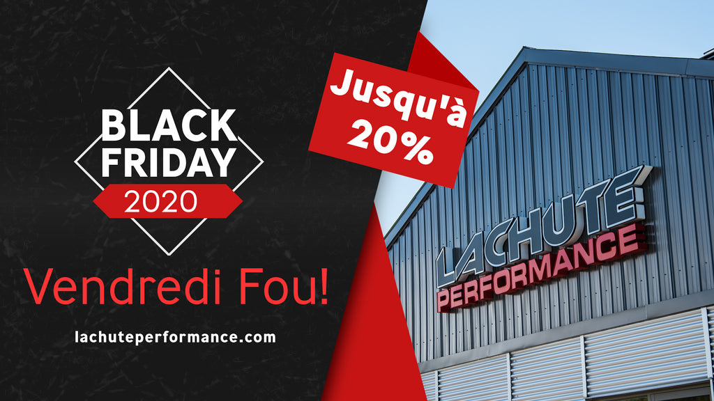 Black Friday - Vendredi Fou - Du 27 au 30 Novembre 2020
