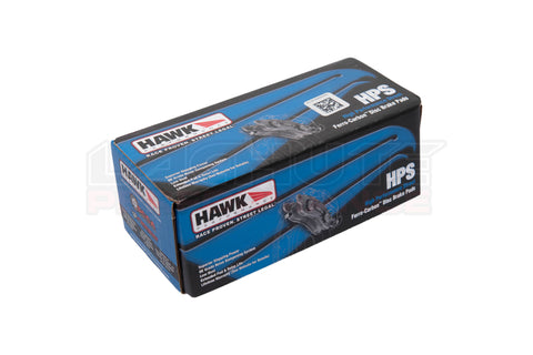 Hawk HPS Brake Pads - Rear (plain rotor) BRZ/FR-S 13+