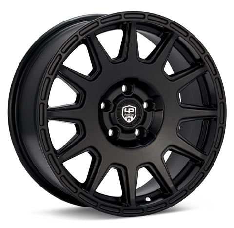 LP Aventure wheels - LP1 - 17x7.5 ET20 5x100 - Black