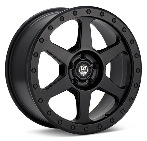 LP Aventure wheels - LP3 - 17x8 ET20 5x114.3 - Matte Black