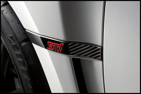 STI JDM Black STI R205 Ornament
