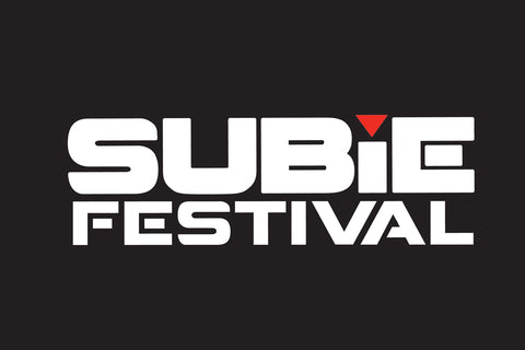 Subiefestival stickers - Logo texte