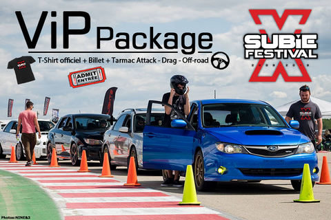 VIP Package - Subiefestival 2019