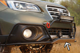 Front plate - Outback - *Big bumper guard* - Option