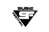 Subiefestival stickers - Triangle